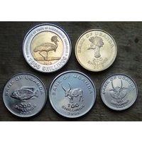 Уганда. набор из 5 монет 2007-2015 год