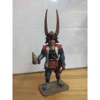 Солдатик НЕ оловянный(военно-историческая миниатюра) самурай Del prado (Дель прадо)  Ishida Mitsunari 1560-1600