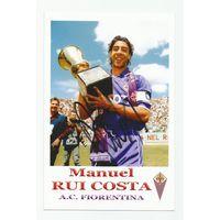 Manuei Rui Costa(Fiorentina, Италия). Живой автограф на фотографии.