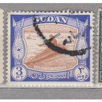 Судан 1951 год  Местные мотивы лодка флот лот 1