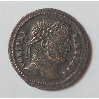Римская империя, Константин Великий, фоллис, 306-337 г.г., красивая древняя монета...