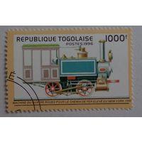 Республика Того.1996.паровоз