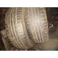 Лот 1432. Пара летних шин 185/60 R15 Dunlop остаток не менее 5 мм. Старт с 80 рублей!