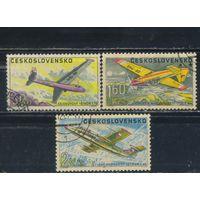 Чехословакия ЧССР 1967 Самолеты #1755,1759,1760
