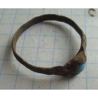 Кольцо ВКЛ с камнем    , распродажа коллекции с 1 рубля, смотрите другие мои лоты !!2