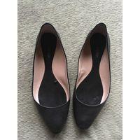 Zara балетки кожаные, размер 35 (размер Zara 36, длина стельки 23 см)