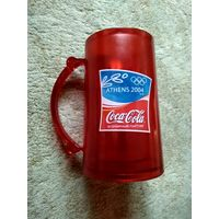 Замораживающаяся олимпийская кружка Coca-Cola в коробке