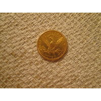 5  долларов  ,  США,   1906  г.  S-Сан- Франциско