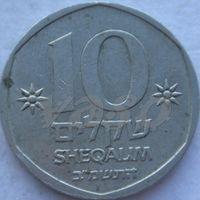 2011:  10 шекелей 1982
