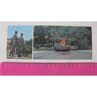 Памятник(открытка чистая 1978г) г.Таганрог Героям подполья