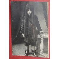 Фото девочки. 1920-е? 8.5х12.5