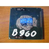 Процессор intel pentium B960 SR07V