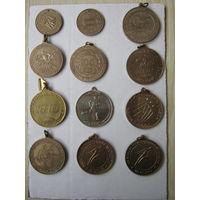 Минский международный марафон (12 медалей)