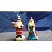 Свечи коллекционные . Дед Мороз и Санта
