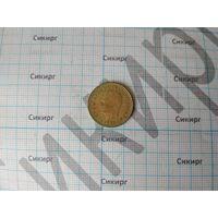 Монета 1 песета Испания 1975