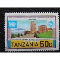 Танзания 1983г. Архитектура.