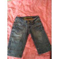 Фирменные джинсовые шорты broadway