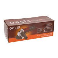 Болгарка, Угловая шлифовальная машина Oasis AG-72/115, новая