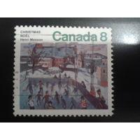Канада 1974 Рождество, живопись