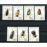 Мадагаскар (Малагаси) - 1994 - Жуки - [Mi. 1656-1662] - полная серия - 7 марок. MNH.