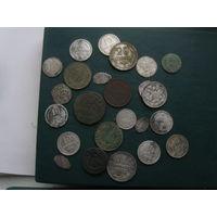1 кучка интересных монет для начинающего коллекционера!
