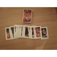 Игральные карты звёзды НБА(времён Баркли,Сабониса).Конец прошлого века.