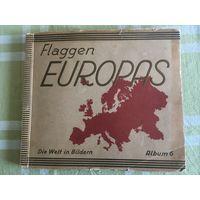 Флаги Европы, альбом, Германия, 1920-е, карты, ССРБ - редкость!