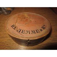 Старинная Аптечная коробочка . Ю. Лемме и К . Одесса