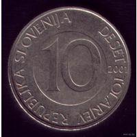 10 Толаров 2001 год Словения