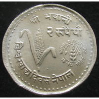 Непал 2 рупии 1981 ФАО (2-259)