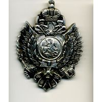 Значок нагрудный Россия царская двуглавый орёл
