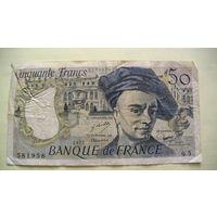 Франция 50 франков 1977г.   распродажа
