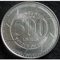 1к Ливан 500 ливров 2000 распродажа коллекции
