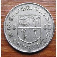 Маврикий. 1 рупия 2005