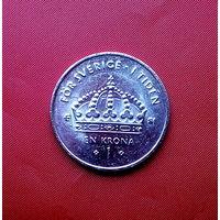 86-18 Швеция, 1 крона 2007 г.