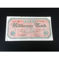 Германия,100 мл. Марок,1923.