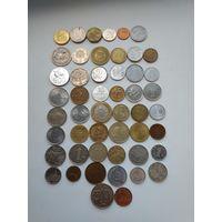 50 монет без повторов.(лот 2).с 1 рубля