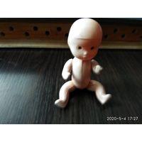 """Детская игрушка из колкой пластмассы""""Пупс""""СССР."""