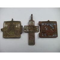 Иконки и крестик в эмалях