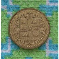 Непал 2 рупии 2003 года. Будийский храм. Инвестируй в коллекционирование!