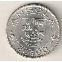 Ангола 20 эскудо 1971