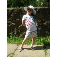 Комплект Gymboree, шляпа, шорты и майка, 6лет