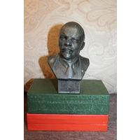 Бюст Ленина, времён СССР, силумин, высота 13.5 см.