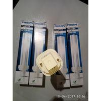 Лампа Philips филипс PL-C 2P 26W/840