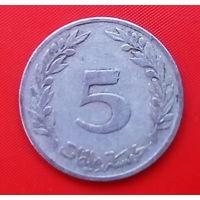 59-36 Тунис, 5 миллимов 1983 г.