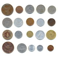 Комплект монет (20 шт.)