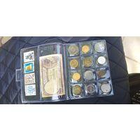 Египет монеты ,марки, банкнота