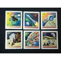 Бурунди 1972. Исследования космоса. Полная серия