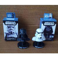 Фигурки Дарт Вейдер (Darth Vader) и Штурмовик (Stormtrooper) Звездные войны (Star Wars).