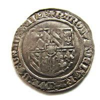 Грош 15 век Нидерланды..